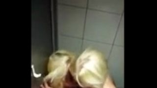 Finnish Lesbians in the toilet