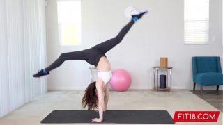 FIT18 – Aliya Brynn – 50kg – Casting Flexible and Horny Petite Dancer