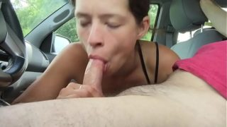 A hooker almost throws up on my dick when I cum