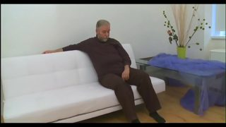Beautiful juvenile gal fucked by old guy