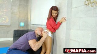 Little Latina Mamacita Vanessa Sparks Gets to Suck The Biggest Cock in Her Life