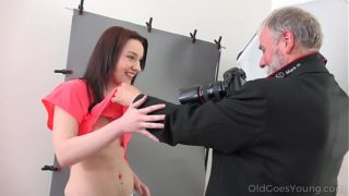Old Goes Young – Yummy brunette Foxy Fox