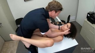 Screw the Cops – Arrested Ebony Teen Gets Fucked As Punishment