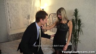 Young Courtesans – Dressed up Gina Gerson for a client teen-porn