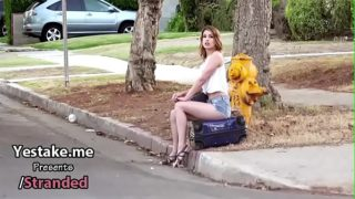 Karlee Grey fucked by a in the backseat
