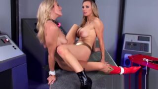 Lesbian mom likes to sit on face of her young stepdaughter