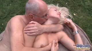 Hot Babe Sweet Cat And Dirty Old Man